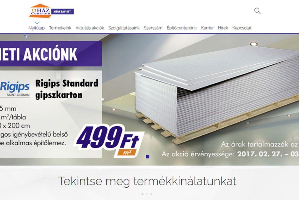 ca3cf81932 Üdvözöljük megújult honlapunkon! | Merkbau Kft. - az újHáz Centrum tagja